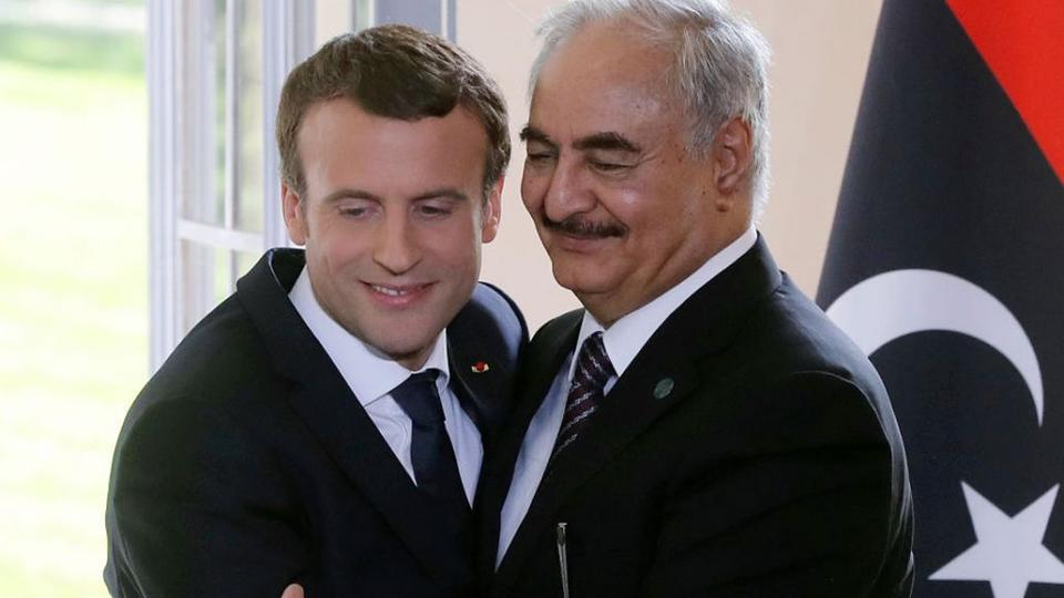 Macron terrorism